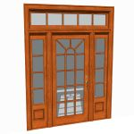 View Larger Image of Front doors set 03