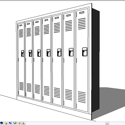 Revit modeled, Parameters include: Materials, Will....