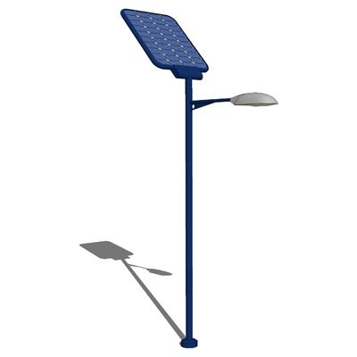 Solar Street Light 3d Model Formfonts 3d Models Amp Textures