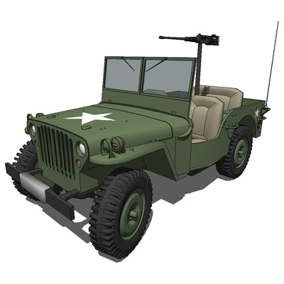 The Willys MB US Army Jeep, along with the nearly ....