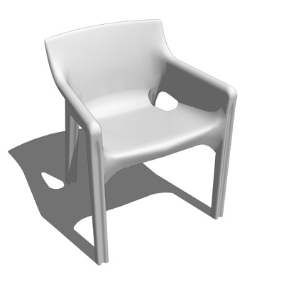 Vico redesigned his Gaudi chair from 1970.