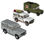 Production of the Defender began in 1983 as the La...