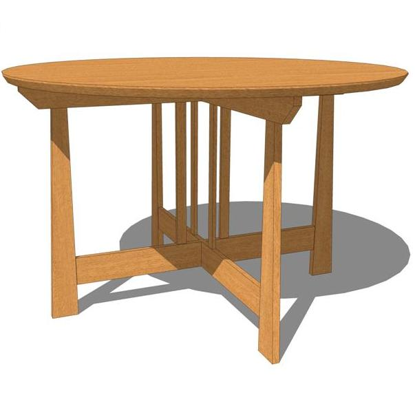 Seating four comfortably, this table is versatile ....
