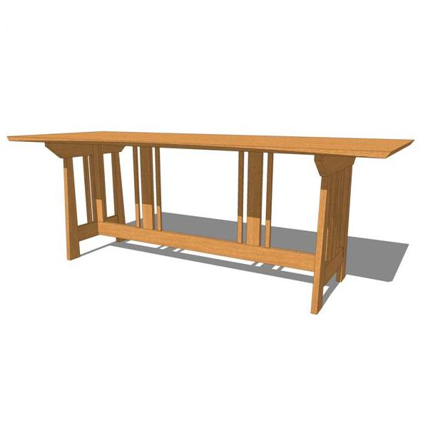 Our distinctive Truss Dining Table was the first G....