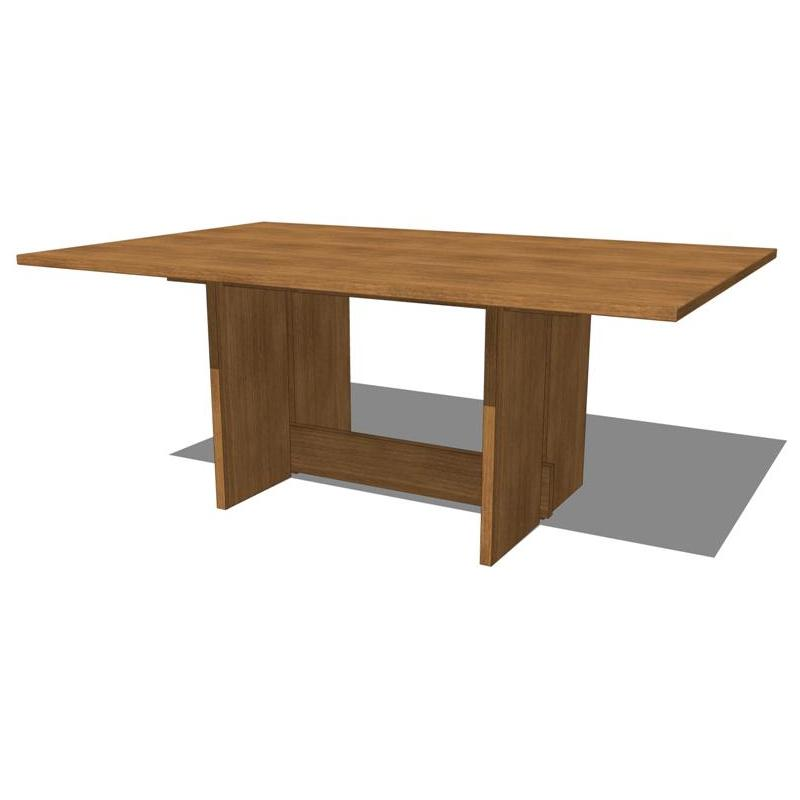 Lineground Dining Table by Skram..