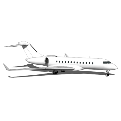 The Bombardier BD-700 Global Express is an ultra l....