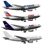The Airbus A310 is a medium to long-range widebody...