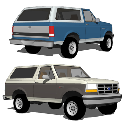 The Ford Bronco was a SUV produced from 1966 throu....