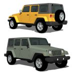 The JK series 2007 Wrangler Unlimited was unveiled...