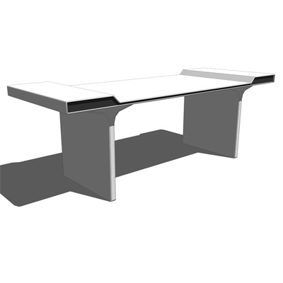 Lineo Office Desk, produced in Finland..
