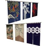 Japanese door curtain