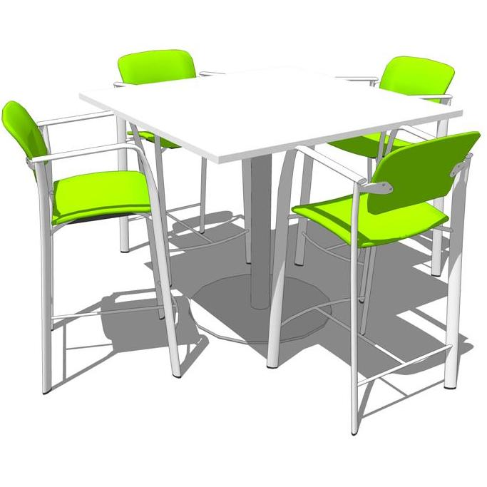 Steelcase Groupwork tables..