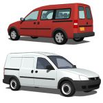 The Combo is a panel van and leisure activity vehi...
