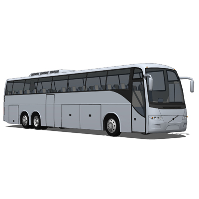Volvo 9700 and 9300 Bus.