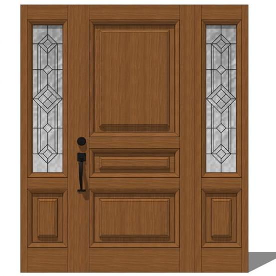 Exterior Door Model 103. There are 2 options, low ....