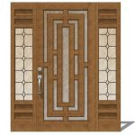 Exterior Door Model 141. There are 2 options, low ...