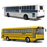 Two configurations of a Thomas Bus.