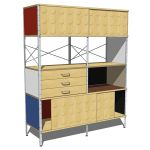 View Larger Image of Eames storage multi-color