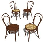 Michael Thonet´s award winning bentwood chai...