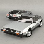 The De Lorean DMC-12 is a sports car that was manu...