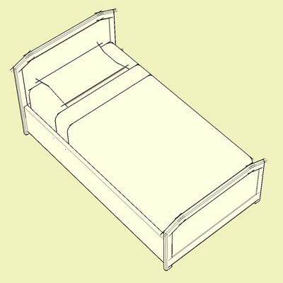 "4 main sizes of bed in ""Archetype"" forma...."