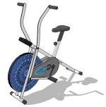 Dual action upright bike,