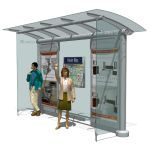 Astral Media Outdoor´s Canopy transit shelte...