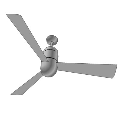 Cirrus Short Ceiling Fan by the Modern Fan Company....