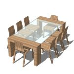 Dining table foe 8 persons