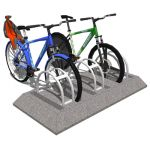 Model based on the Precast Bike Rack by Petersen M...