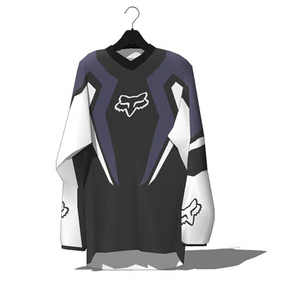 Fox Motocross jerseys. Intended for shop display, ....