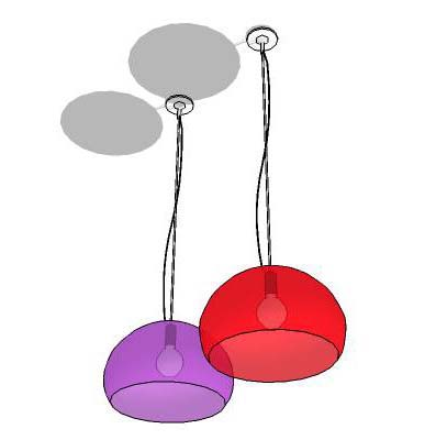 The FL/Y Icon hanging lamps are a luminous surpris....