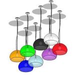 The FL/Y Icon hanging lamps are a luminous surpris...