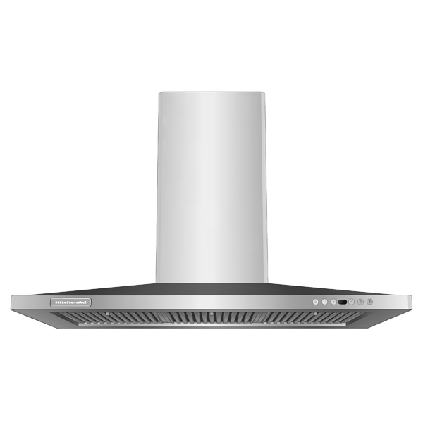 KitchenAid canopy range hoods. Available in wall m....