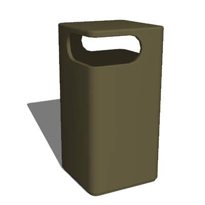 Peter Pepper Products trash receptacle model LOF20....