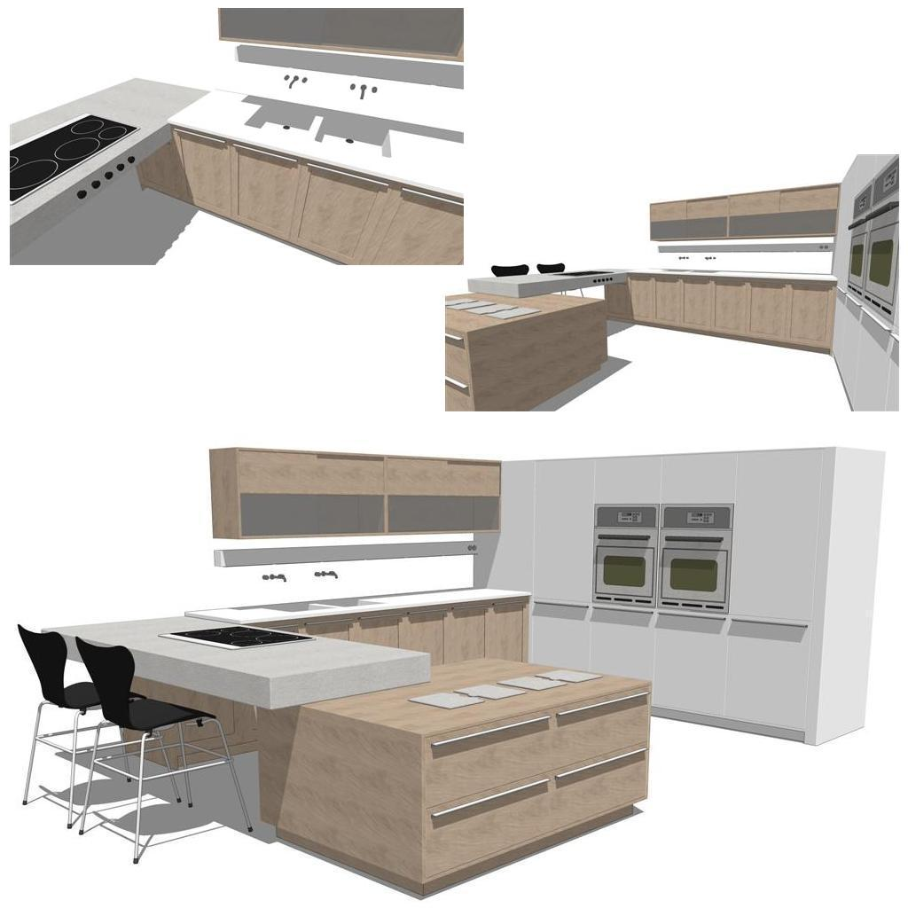 Integra Kitchen Set. Everything is included except....
