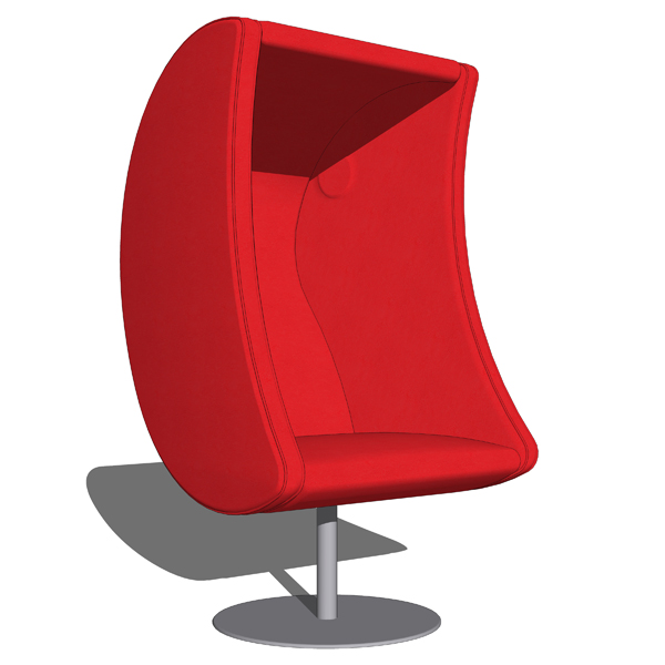 Eurobib´s Luna chair with speakers. Designed....