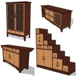 Oriental chest collection
