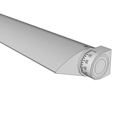 VODE WING Rail Fixture in 24, 36, 48 and 60 inch c....