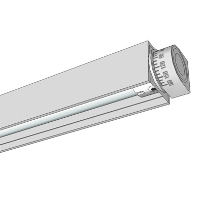 VODE BOX Rail Fixture in 24, 36, 48 and 60 inch co....