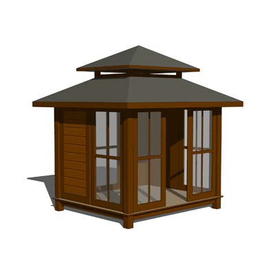 A set of Gazebo.