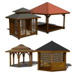 A set of Gazebo