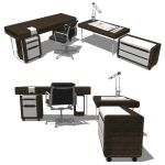 Vu Vu Vu Office Group by Usona. Only desk is a tru...
