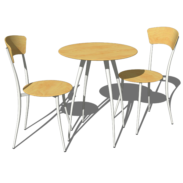 Adesso cafe table and chairs sets. Available in wo....