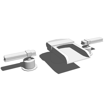 Alterna widespread lavatory faucet by kohler.