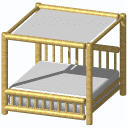 Archicad 11 Object Library, Canopy Bed
