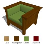 View Larger Image of 2 Craftsman Chairs
