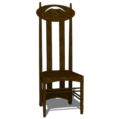 Charles Rennie Mackintosh created this classic hig....