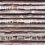 Seamless old wood siding